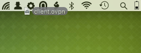 Drag config file to menu